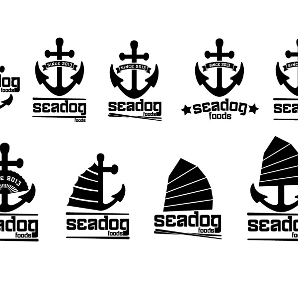 Seadog Food logo ideas